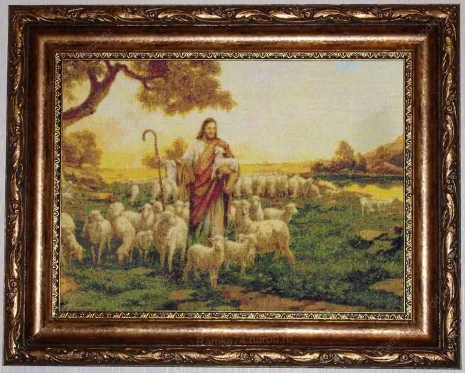 Вышивка Иисус. Для увеличения